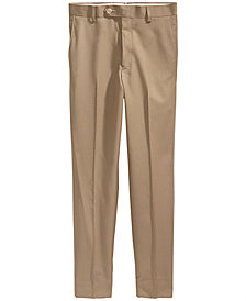 Lauren Ralph Lauren Khaki Suiting Pants, Big Boys