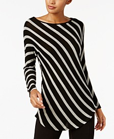 INC Striped Tunic, Created for Macy's