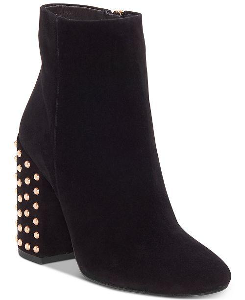 Jessica Simpson Wexton Block Heel Bootie (Women's) yF2HfM23