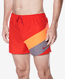 "Nike Men's Signal Colorblocked Volley 4"" Swim Trunks"