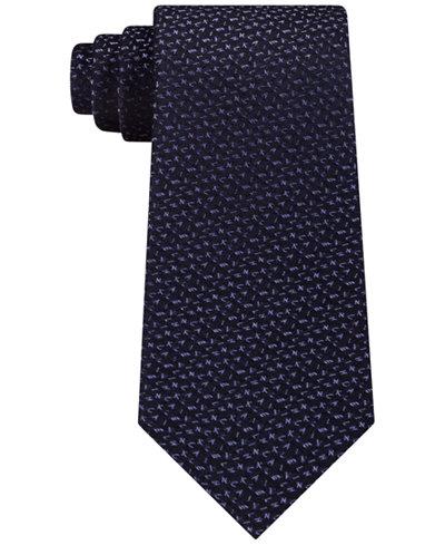 Calvin Klein Men's Shimmer Logo Tie