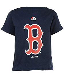 Majestic Boston Red Sox Primary Logo T-Shirt, Toddler