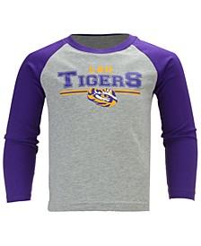 LSU Tigers Field Line Long Sleeve T-Shirt, Little Boys (4-7)