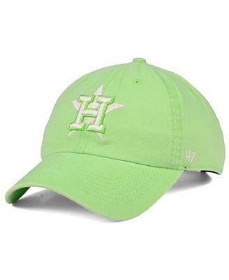 '47 Brand Houston Astros Summerland CLEAN UP Cap
