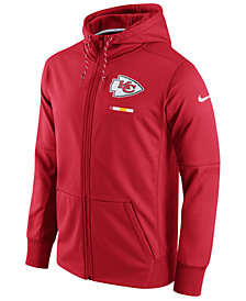 Nike Men's Kansas City Chiefs Therma Full-Zip Hoodie