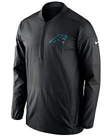 Nike Men's Carolina Panthers Lockdown Quarter-Zip Jacket