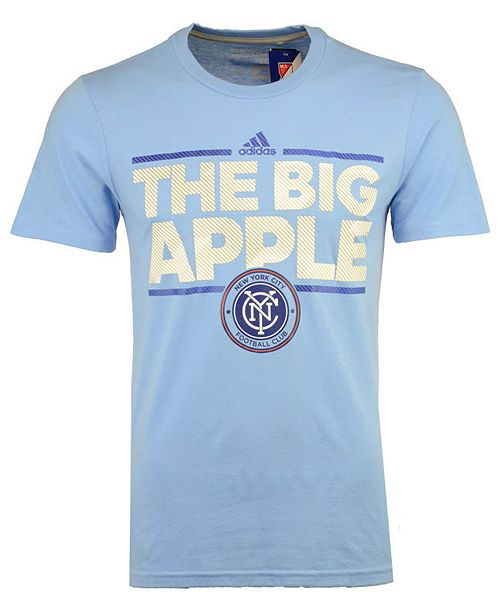 adidas Men's New York City FC City Name Performance T-Shirt