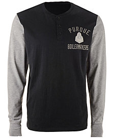 '47 Brand Men's Purdue Boilermakers Downfield Henley T-Shirt