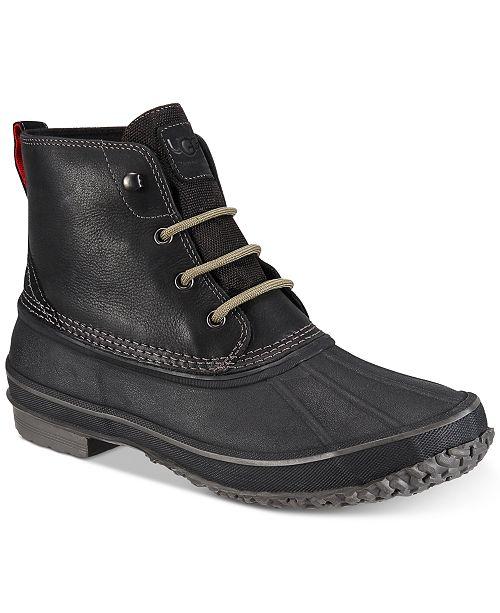 536a5e6aa6d UGG® Men's Zetik Waterproof Boots & Reviews - All Men's Shoes - Men ...
