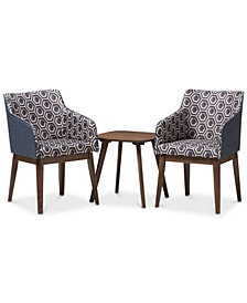 Kinlee 3-Pc. Lounge Set, Quick Ship