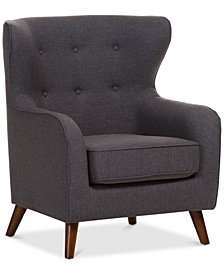 Kelene Upholstered Armchair, Quick Ship