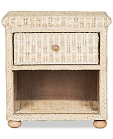 Santine Nightstand, Quick Ship