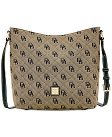 Dooney & Bourke Signature Quilted Hobo Crossbody, Created for Macy's