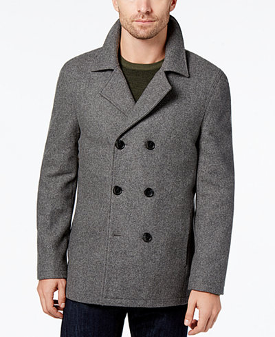 Daniel Hechter Paris Men's Peacoat - Coats & Jackets - Men - Macy's