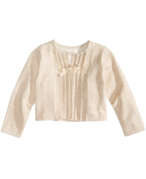 First Impressions Pleated Cardigan Baby Girls (024 months) Created for Macys