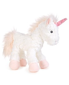 "First Impressions Baby Girls 8"" Plush Unicorn, Created for Macy's"