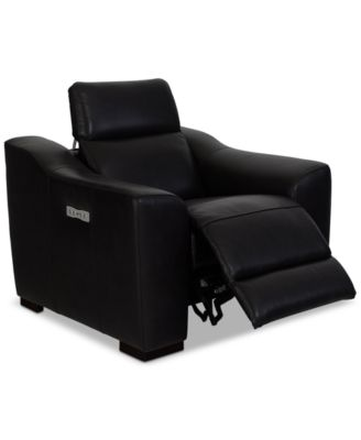 Anniston Leather Arm Chair Recliner with USB Power Outlet Created for Macyu0027s  sc 1 st  Macyu0027s & Accent Chairs and Recliners - Macyu0027s islam-shia.org