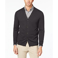 Deals on Club Room Mens Knit V-Neck Cardigan