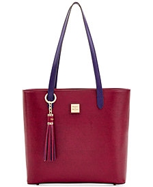 Dooney & Bourke Hadley Coated Leather Tote