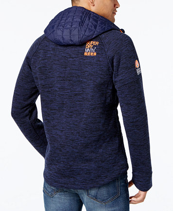 Superdry Men's Mountain Quilted Hooded Jacket - Coats & Jackets ... : quilted hooded coat - Adamdwight.com