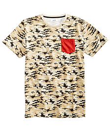 Univibe Men's Camo Pocket T-Shirt