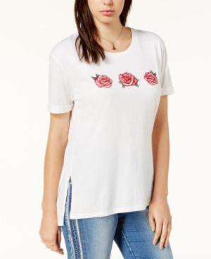 Carbon Copy Rose Graphic-Print T-Shirt 5164291