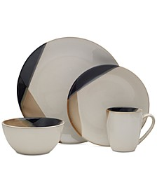 Gourmet Basics by Caden 16-Pc. Dinnerware Set