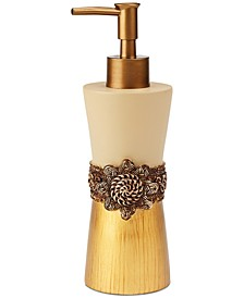 Braided Medallion Lotion Pump