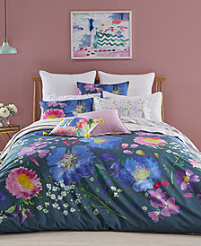 bluebellgray Kippen Cotton 3-Pc. Full/Queen Duvet Cover Set