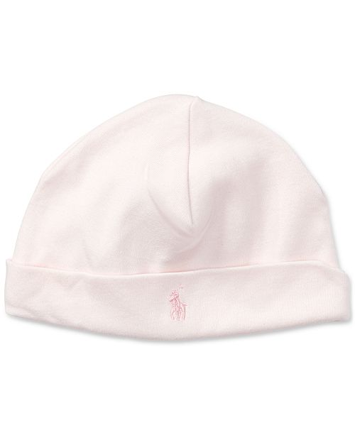 92afcd0a58a Polo Ralph Lauren Ralph Lauren Baby Girls Cotton Hat   Reviews - All ...