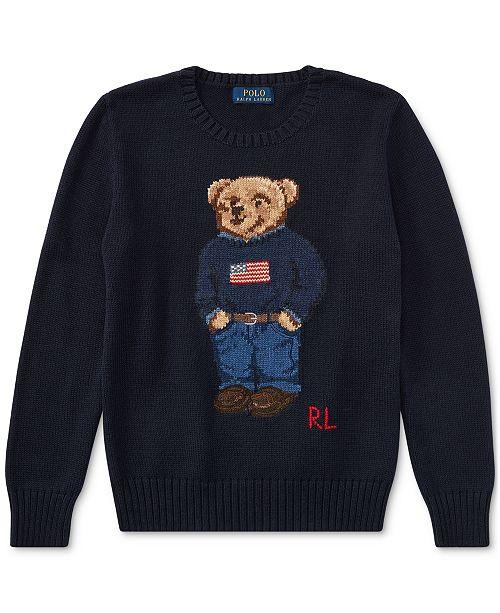 7ce619feda3 ... Polo Ralph Lauren Ralph Lauren Polo Bear Cotton Sweater