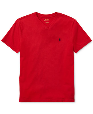 Polo Ralph Lauren Big Boys V Neck Tee Amp Reviews Shirts