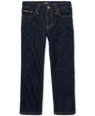 Ralph Lauren Little Boys Hampton Straight Stretch Jeans