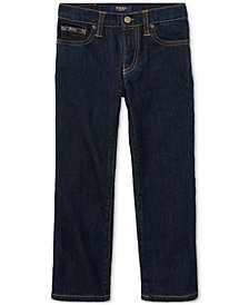 Ralph Lauren Little Boys Hampton Straight Stretch Jeans