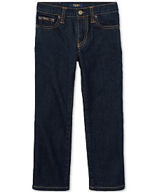 Polo Ralph Lauren Little Boys Hampton Straight Stretch Jeans
