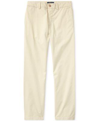 Ralph Lauren Big Boys Suffield Flat-Front Pants