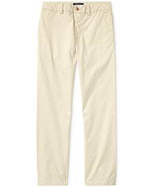 Ralph Lauren Big Boys Suffield Flat-Front Pants