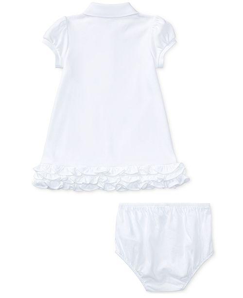 ed853b4c5 Polo Ralph Lauren Ralph Lauren Baby Girls Embroidered Polo Dress ...