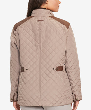 Lauren Ralph Lauren Plus Size Quilted Jacket - Coats - Women - Macy's : quilted jacket plus size - Adamdwight.com