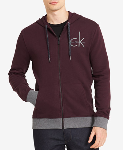 Calvin Klein Jeans Men's Zip-Front Hoodie, Created for Macy's