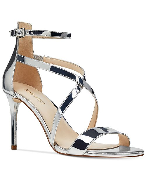 Nine West Retilthrpy Strappy Sandals Women's Shoes ND9vKTSxy