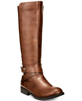 Image of Style & Co Madixe Riding Boots, Created for Macy's