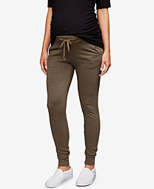Splendid Maternity Under-Belly Jogger Pants