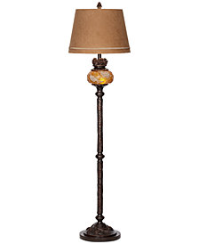 Pacific Coast Pine Cone Floor Lamp