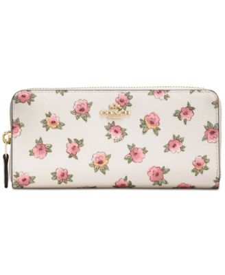 Coach bag flowers name coach slim accordion zip wallet in flower patch print coated canvas mightylinksfo