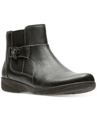 12754e1a Clarks Women's Cheyn Work Ankle Booties & Reviews - Boots ...