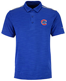 Columbia Men's Chicago Cubs Omni-Wick Alignment Polo