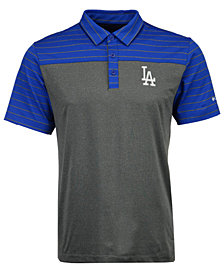 Columbia Men's Los Angeles Dodgers Omni-Wick Groove Polo