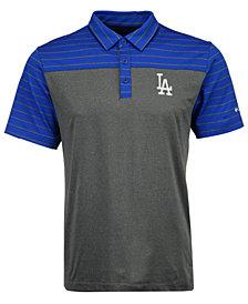 Columbia Men's Los Angeles Dodgers Omni-Wick Groove Polo