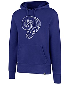 Men's Los Angeles Rams Retro Knockaround Hoodie